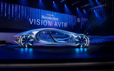 Mercedes-Benz於美國CES展上推出全新科幻概念車型 Mercedes Vision AVTR