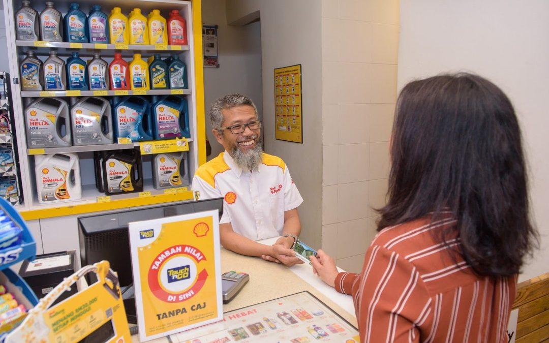 Shell宣布取消27間位於南北大道上油站的Touch'n Go 充值費用