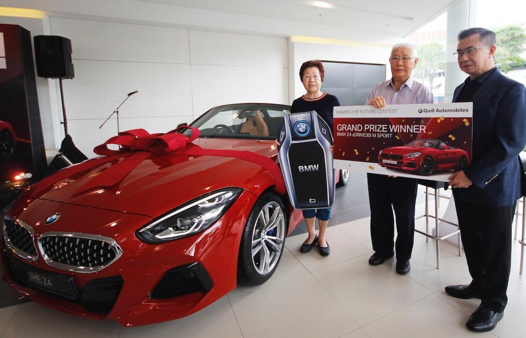 X Marks The Future 竞赛落幕,大奖BMW Z4得主正式公布