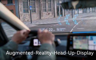 Volkswagen ID.3 將搭載Volkswagen最新AR HUD抬頭顯示器,帶給人們全新駕駛體驗