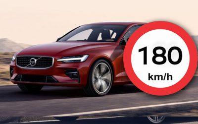 Volvo新車限速180km/h,新S60及未來國內新車款確定使用