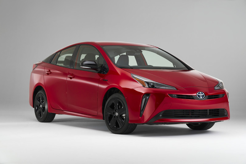 Toyota美国推出Toyota Prius 2020 Edition,限量2,020辆