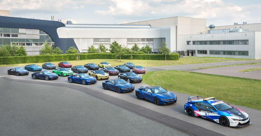 BMW推出限量18台特殊涂装车型,纪念BMW i8正式退出历史舞台