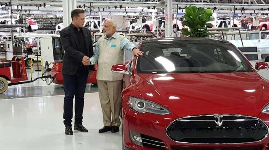 Tesla在印度设厂组装右坨版本?