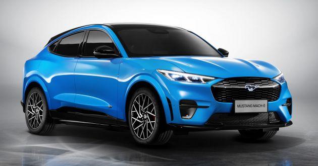 Ford将在中国生产特供版Mustang Mach-E